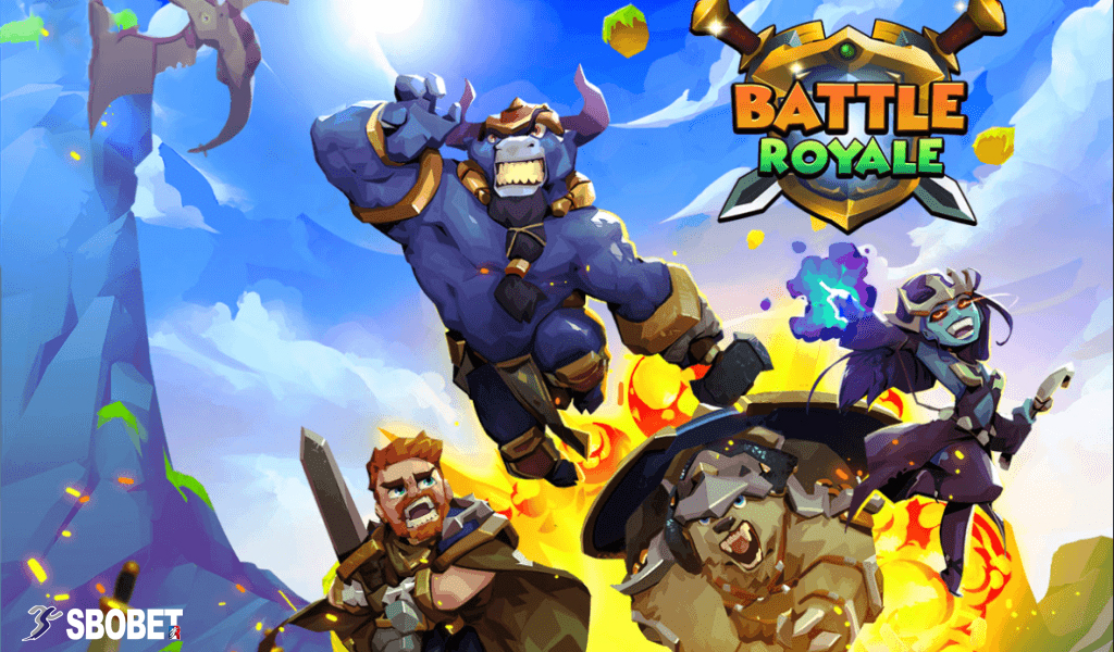 BATTLE ROYALE สอนวิธีการเล่นเกมนี้บนเว็บเดิมพัน SBOBET